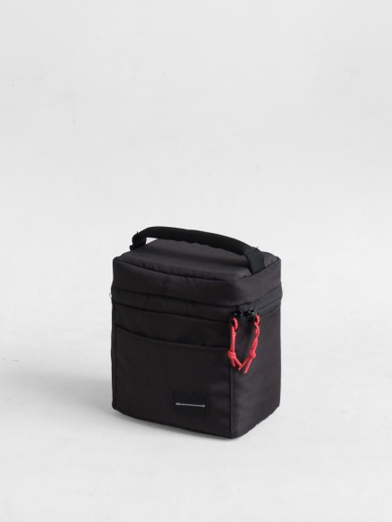 "BLACK ""N-CUBE"" INSERT BAG"