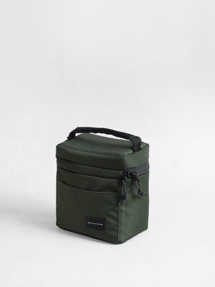"GREEN ""NCUBE"" INSERT BAG"