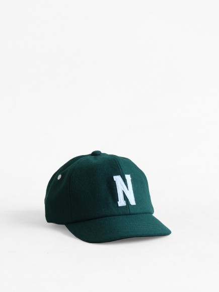 "GREEN ""NAGANO"" JAPAN BALL CAP"
