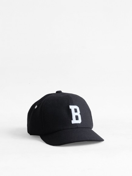"BLACK ""BUZEN"" JAPAN BALL CAP"