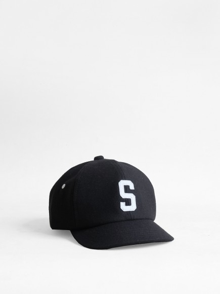 "BLACK ""PONTO"" JAPAN BALL CAP"