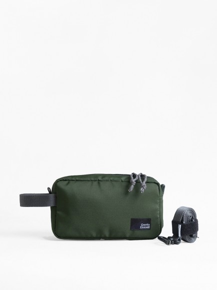 "GREEN ""ARGO"" DOPP KIT"