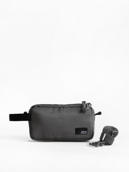 "GREY ""ARGO"" DOPP KIT"