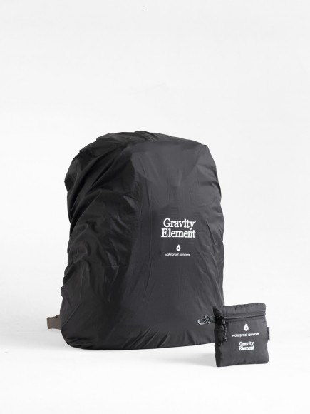 "BLACK ""SEAL"" BAGS RAINCOVER"