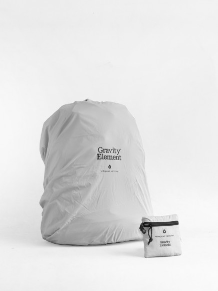"GREY ""SEAL"" BAGS RAINCOVER"