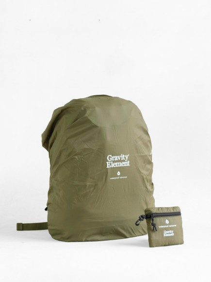 "OLIVE ""SEAL"" BAGS RAINCOVER"