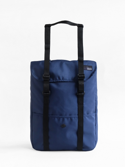 "BLUE ""WANDER"" TOTE BAG + BACKPACK"