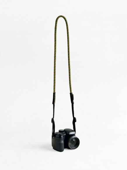 "GREEN ""LOOPY"" CAMERA STRAP"