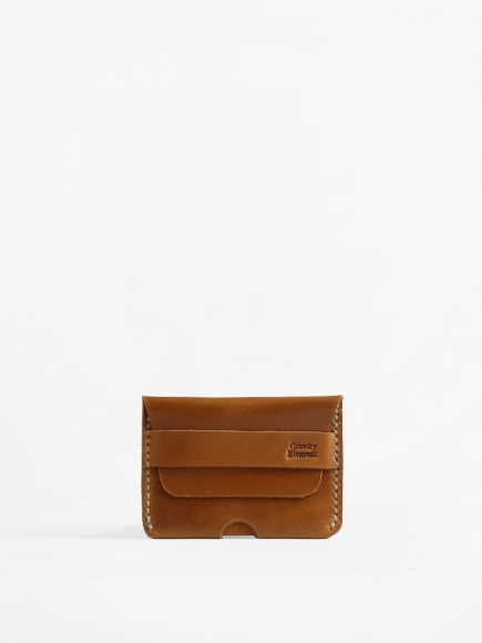 "TAN ""TOPO"" CARD CASE"