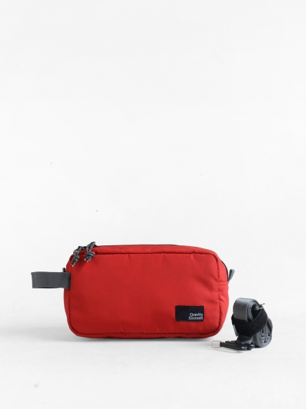 "RED ""ARGO"" DOPP KIT"