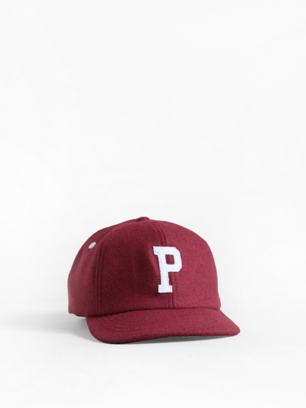 "MAROON ""PONTO"" JAPAN BALL CAP"