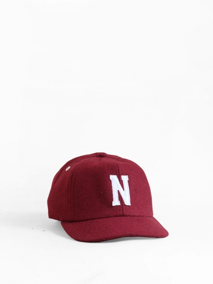 "MAROON ""NAGANO"" JAPAN BALL CAP"