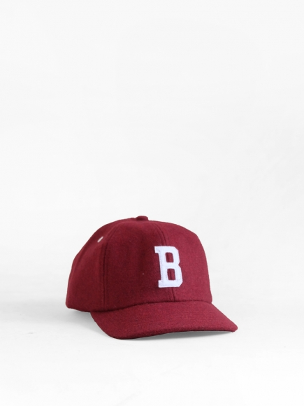 "MAROON ""BUZEN"" JAPAN BALL CAP"