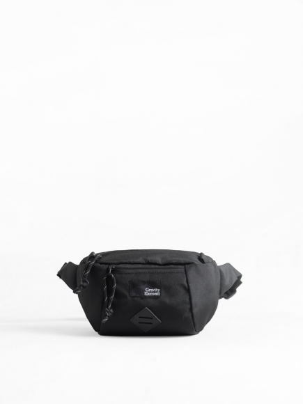 "BLACK ""TRIP"" SMALL SLING BAG"
