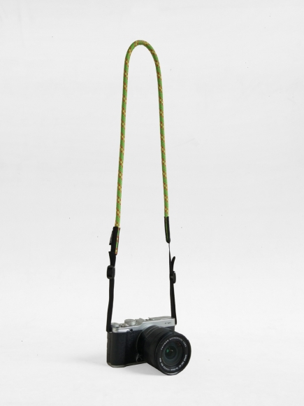 "LIME GREEN ""LOOPY"" CAMERA STRAP"