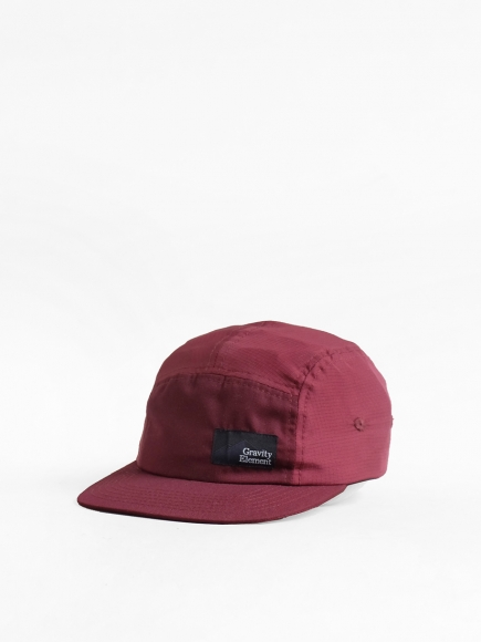 MAROON 'WINTER' NYLON 5-PANEL CAP
