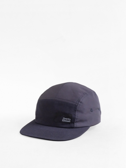 NAVY 'WINTER' NYLON 5-PANEL CAP