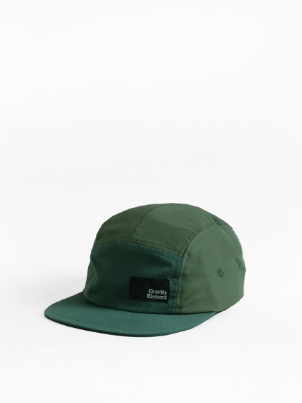 GREEN 'WINTER' NYLON 5-PANEL CAP