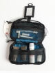 BLACK 'MIST' TOILETRIES BAG