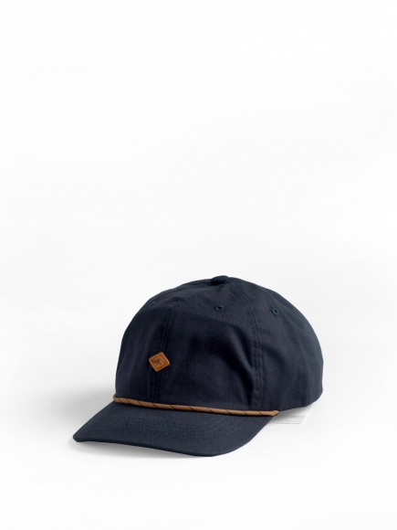 NAVY 'CLIFF' POLO CAP