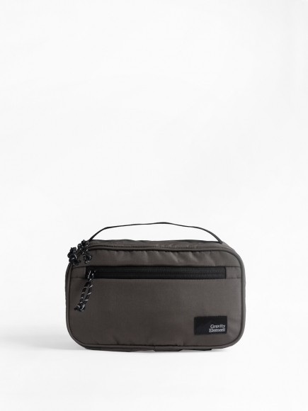 GREY 'MIST' TOILETRIES BAG