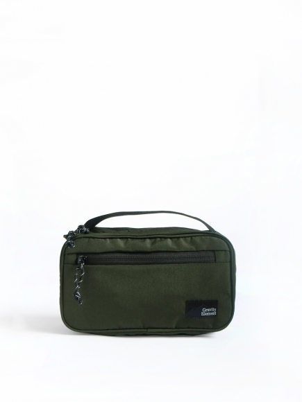GREEN 'MIST' TOILETRIES BAG
