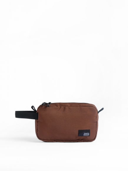 "BROWN ""ARGO"" DOPP KIT"