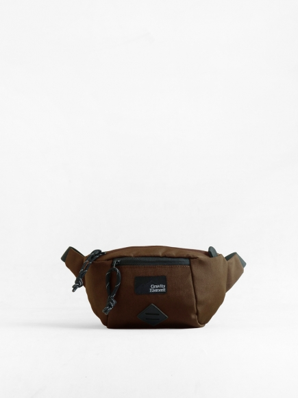 "BROWN ""TRIP"" SMALL SLING BAG"