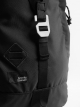 "BLACK ""KERINCI"" FLAP BACKPACK"