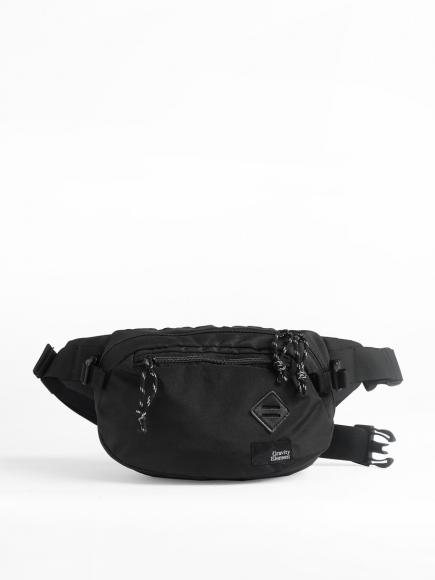 "BLACK ""VELO"" CROSS-BODY BAG"