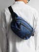 "BLUE ""VELO"" CROSS-BODY BAG"