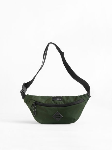 "GREEN ""MOVE"" SMALL SLING BAG"