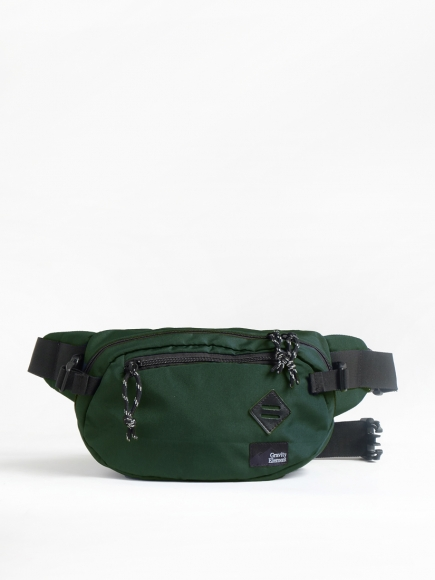 "GREEN ""VELO"" CROSS-BODY BAG"