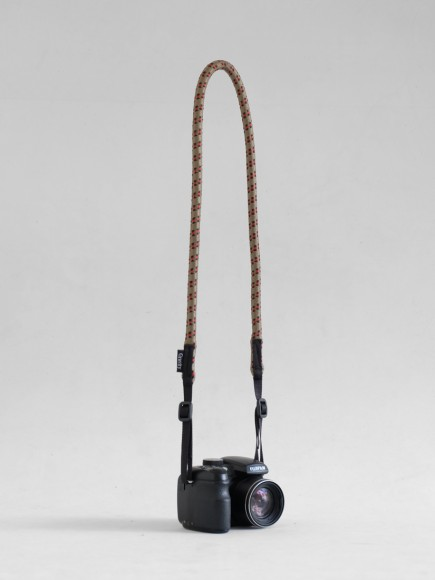 "OLIVE ""LOOPY"" CAMERA STRAP"